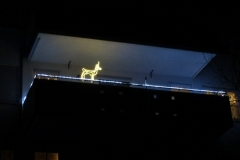 Die Korber Höhe leuchtet